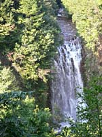 Hanabusa waterfall photograph